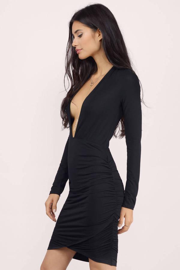 Deep Plunge Dress