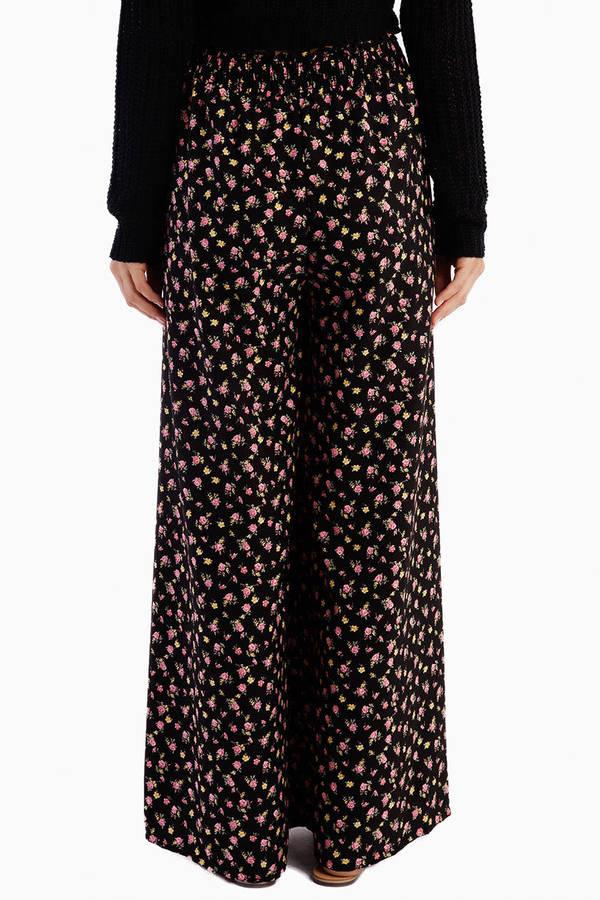 Theresa Floral Pants