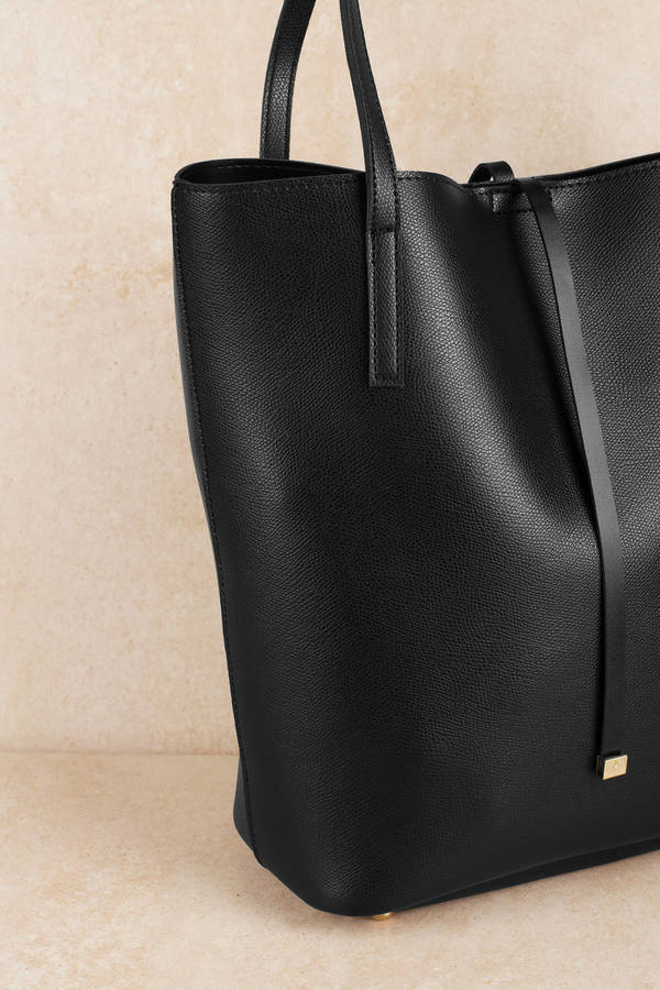 Tracey Black Tote Bag