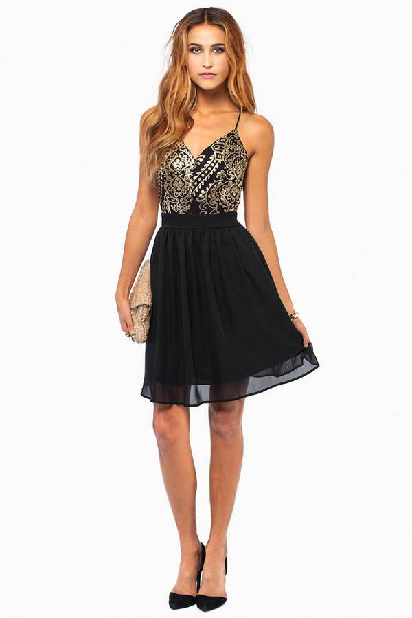 Twisted Nights Dress