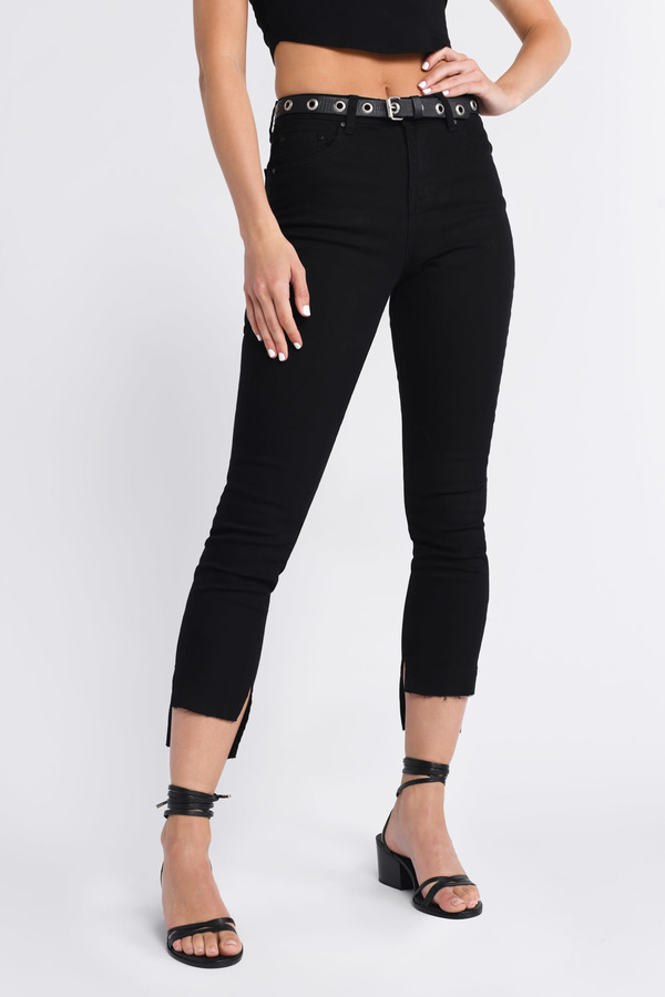 554e5a444e Jeans | Women's Jeans, Black Ripped Skinny Jeans, High Waisted | Tobi