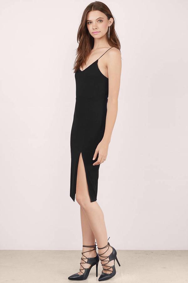 Cheap Black Midi Dress Black Dress Ribbed Dress Midi Dress