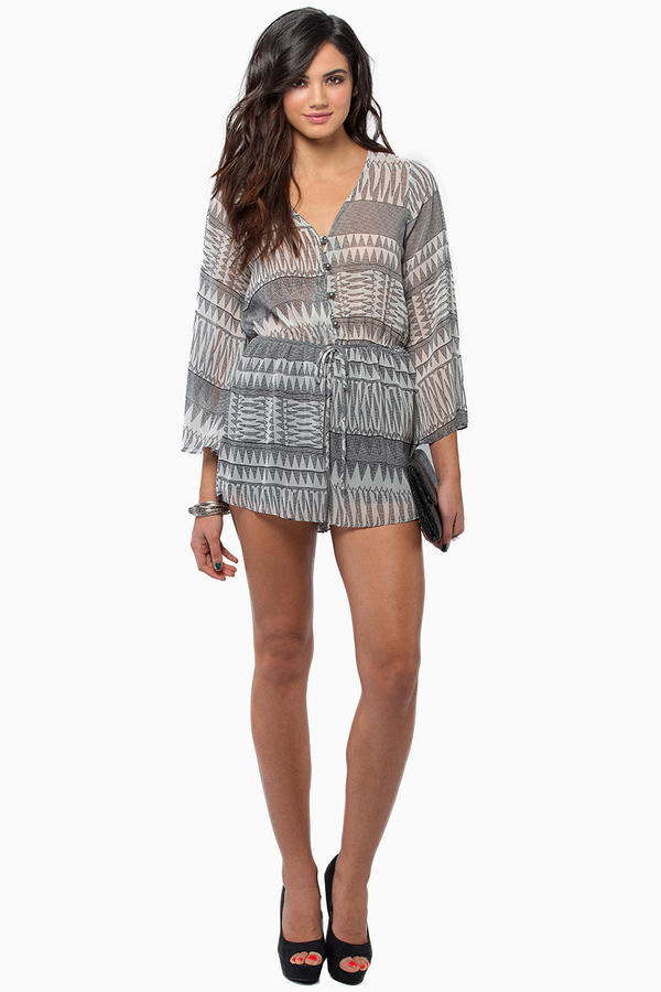 Isis Long Sleeve Romper