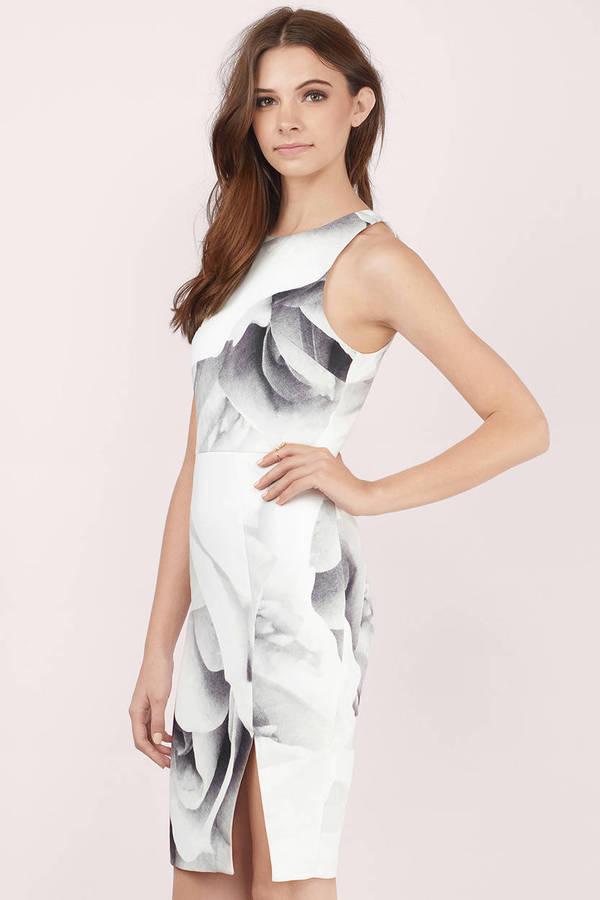 Bodycon Dresses Tight Dress White Lace Sexy Black