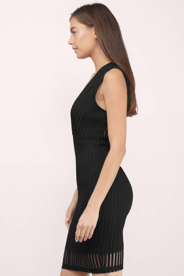 Cheap Black Midi Dress Plunging V Dress Midi Dress 11 Tobi Us