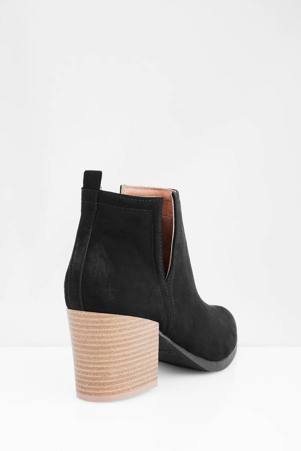 Ankle Boots   Black Boots, Cheap Boots, Fringe Boots   Tobi
