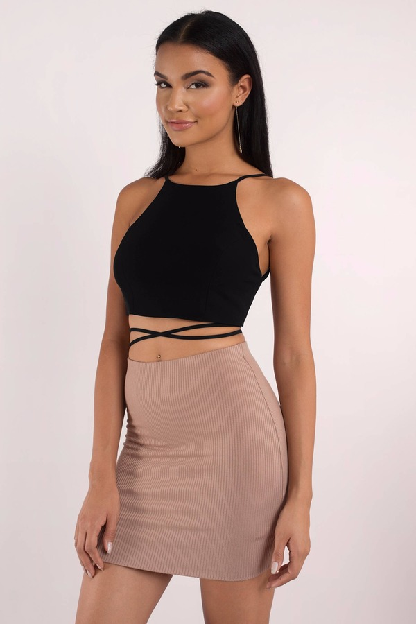 Wred Up Sage Crop Top