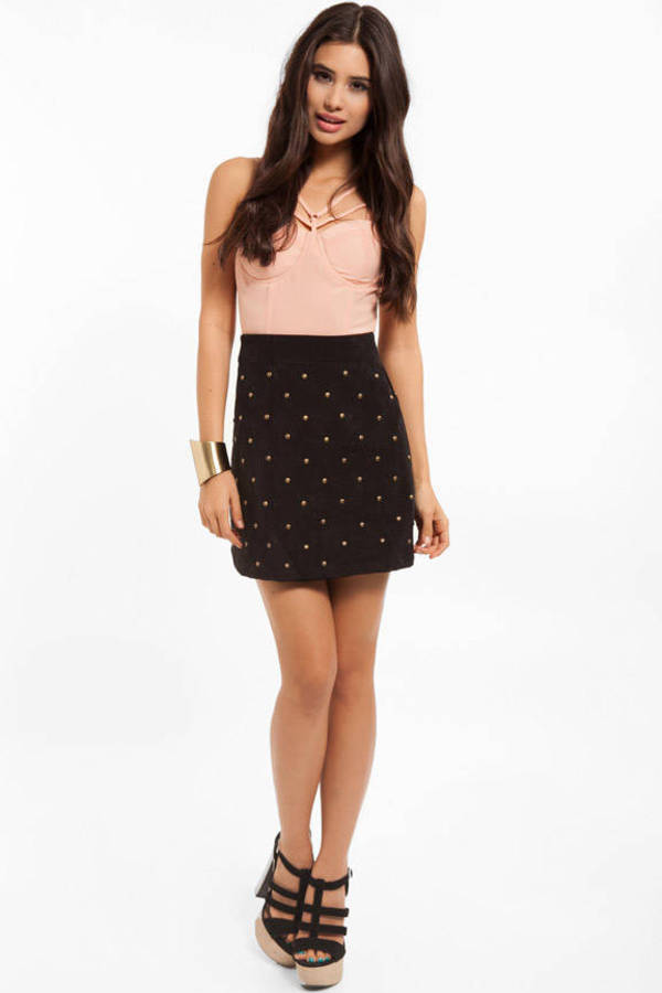 MINKPINK You're So Riveting Skirt