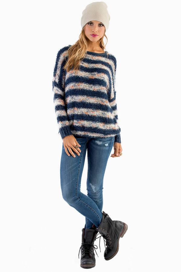 Elisa Fuzzy Sweater