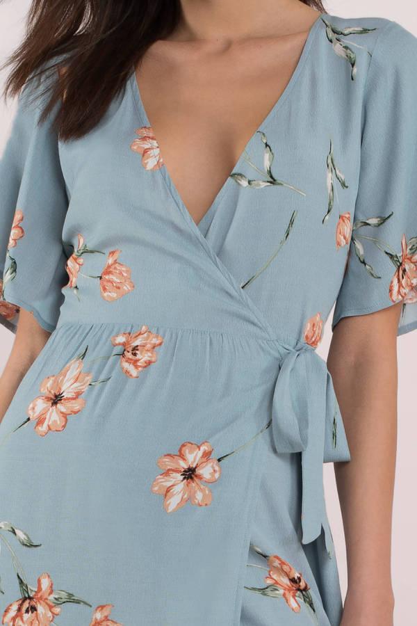 Floral Maxi Dresses | Floral White Maxi Dresses for Women | Tobi