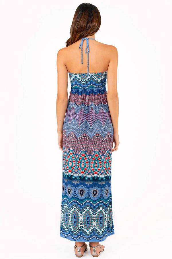 Pitter Pattern Maxi Dress