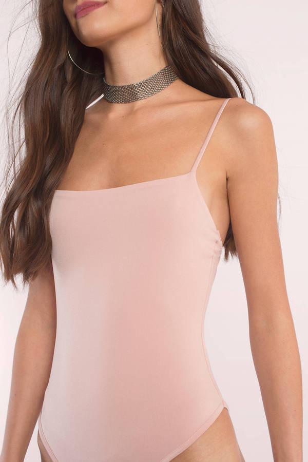 Cute Blush Bodysuit - Cami Bodysuit - Tank Bodysuit - Blush Bodysuit ... 7b20424f5