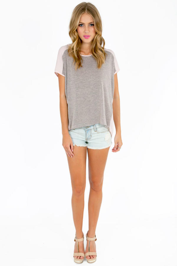 Connie Contrast Top