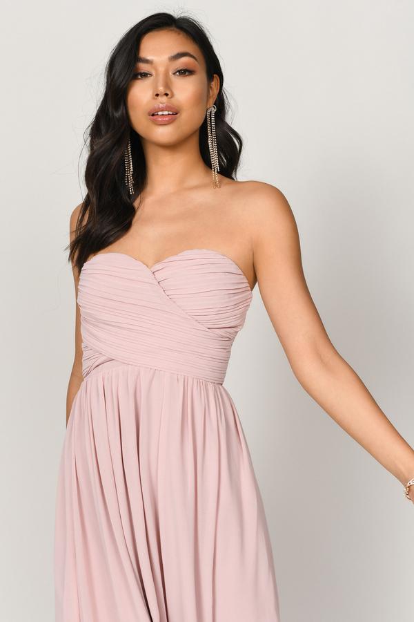 Blush Pink Dresses Short Light Pink Dresses Pink Prom Dress Tobi