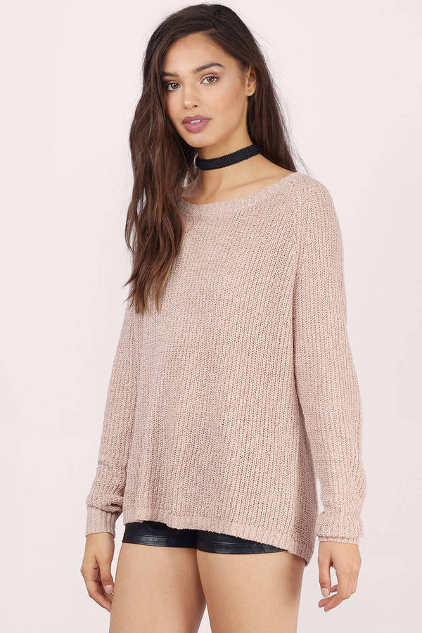 Joey Wide Neck Sweater