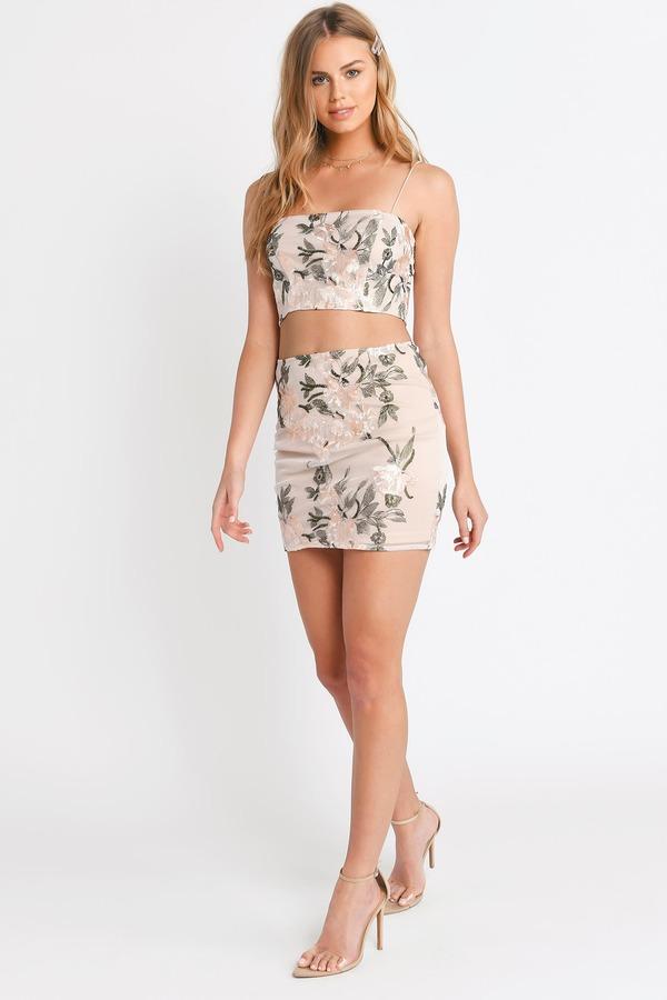 Floral Dresses Long Floral Dress White Floral Print Dress Tobi