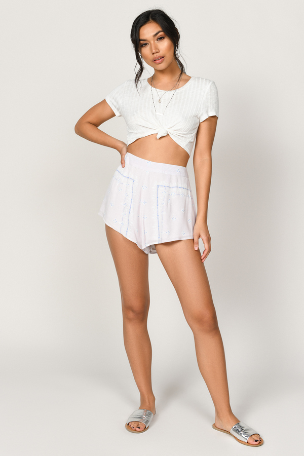 badb6f364264 ... Tobi Boho Pants, Blush Multi, Gina Tunsian Scarf Print Shorts, Tobi
