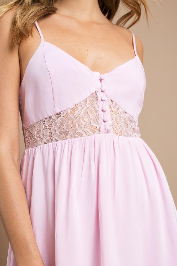 Pink Dresses - Hot- Light- Baby Pink- Prom&amp- Cocktail Dresses - Tobi