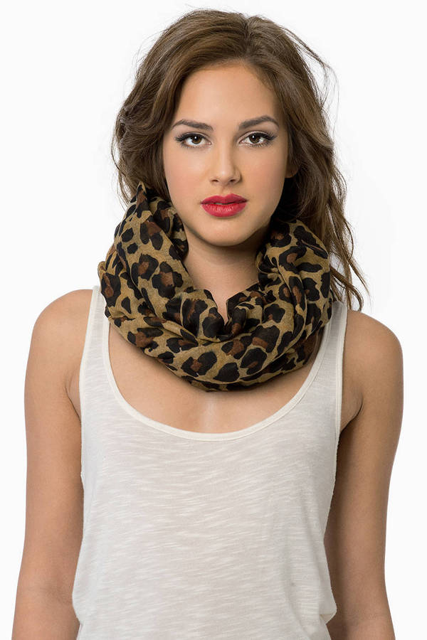 Leaping Leopard Scarf