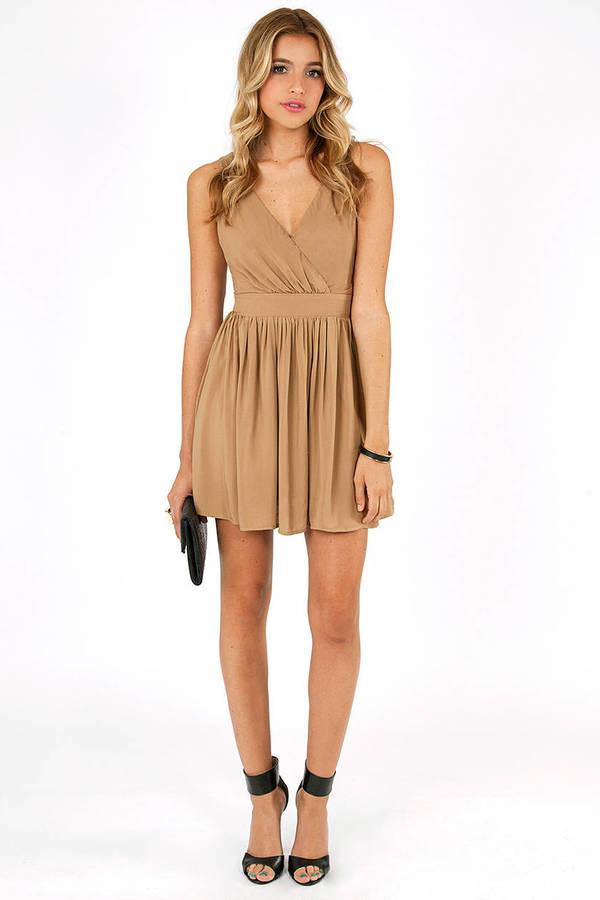 Meg Deep V Dress