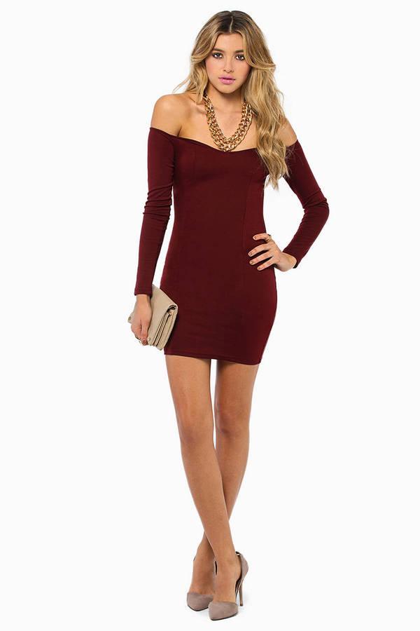 Day Off Shoulder Dress