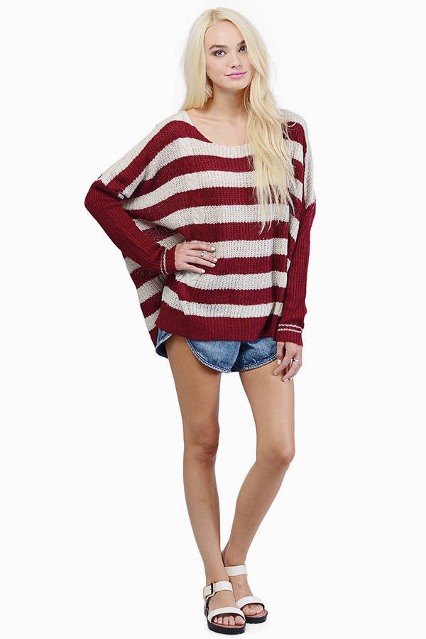 Pearly Stripes Sweater