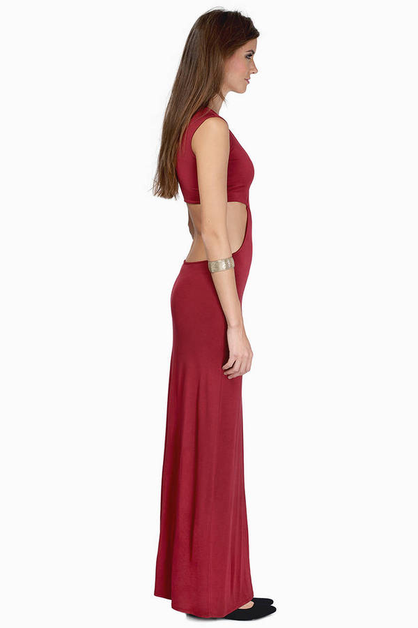 Justine Side Slit Maxi Dress