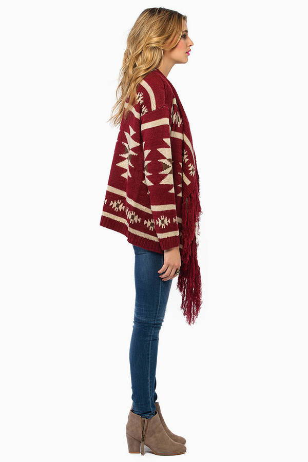Rieta Fringe Sweater