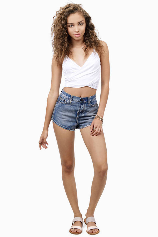 Centinela High Waisted Shorts