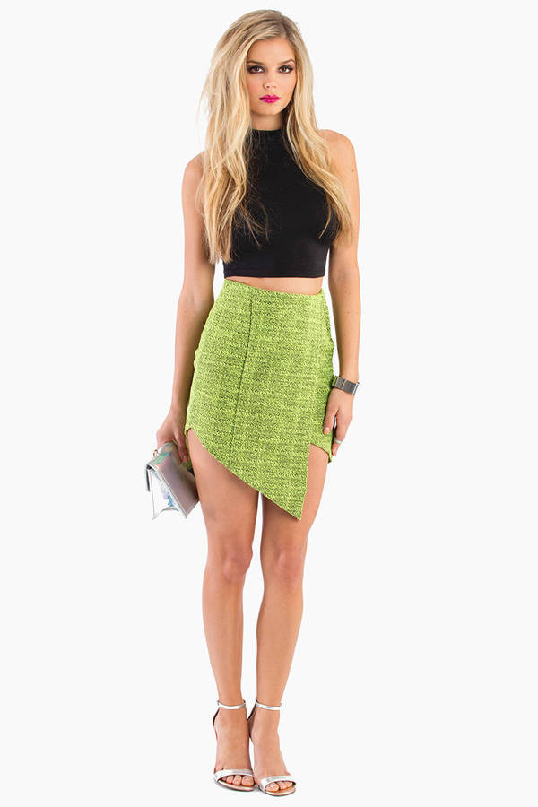 Finders Keepers Jump Then Fall Skirt