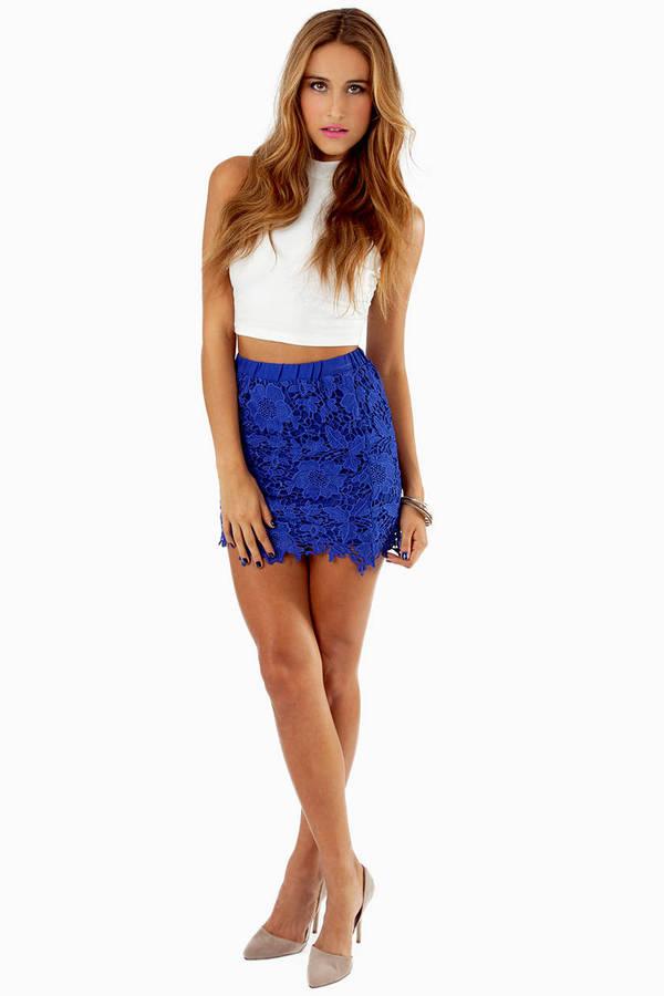 Serena Crochet Skirt
