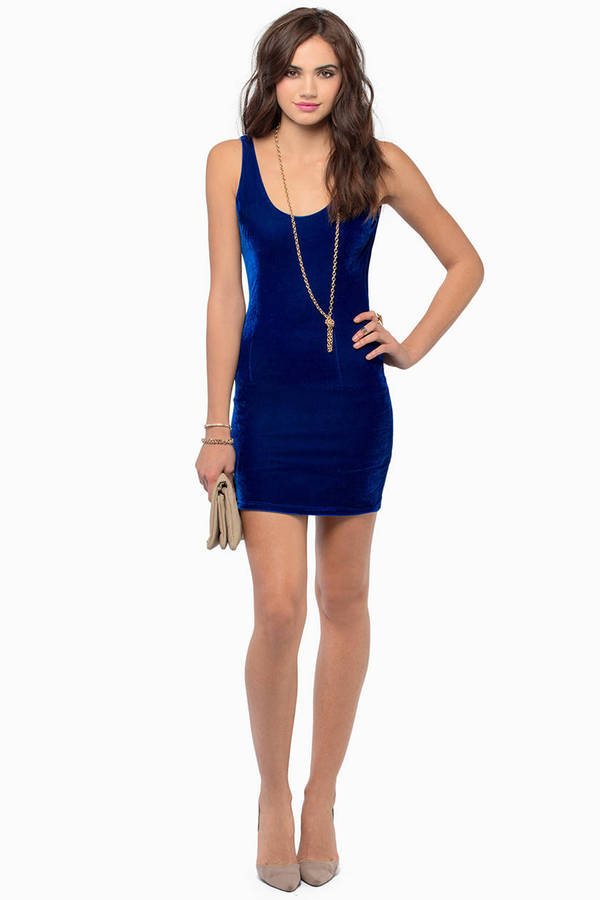 Undisclosed Velour Dress