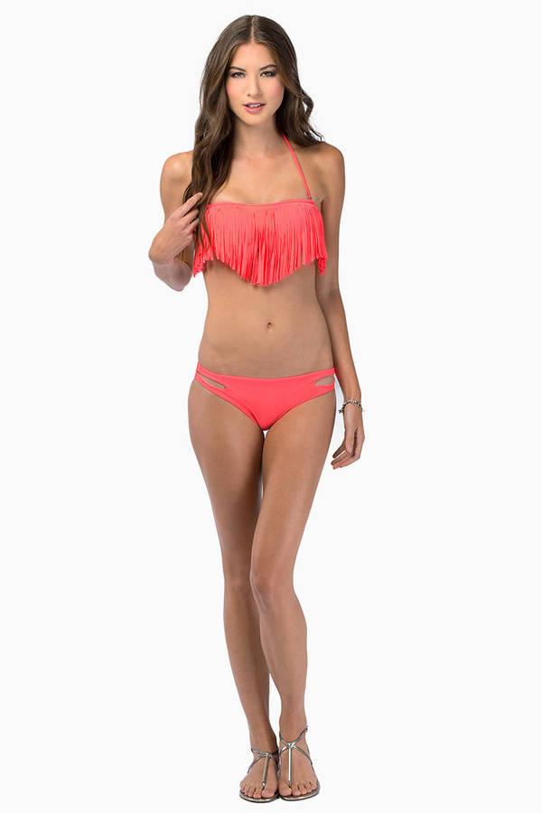 Annmarie Fringe Bikini Set