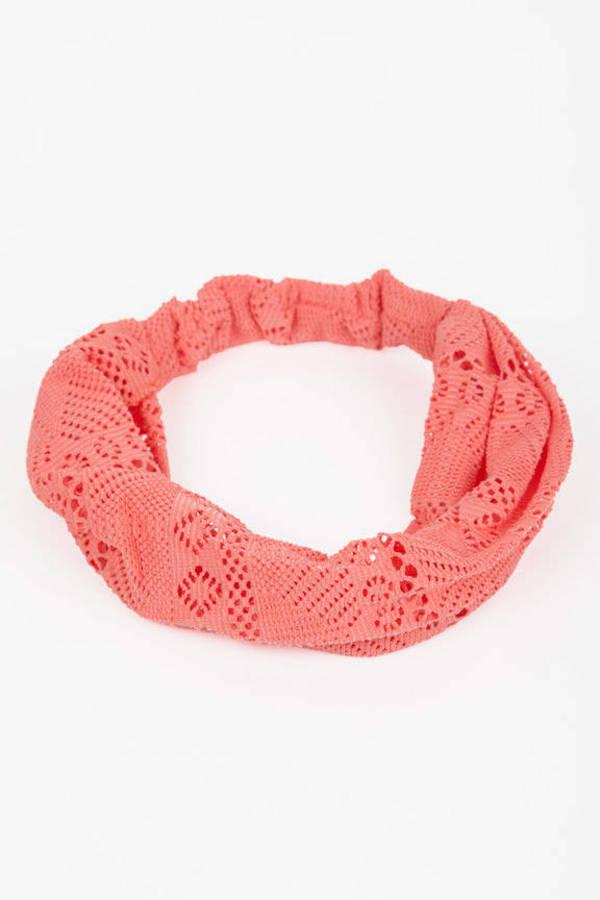 Corrie Crochet Turban Headband