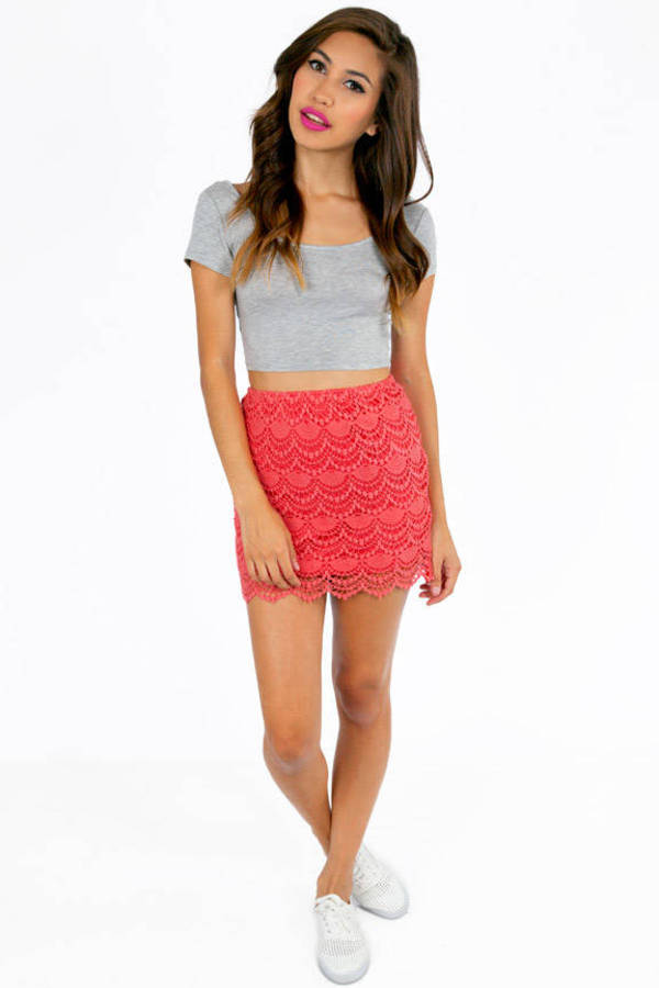 Fannie Crochet Skirt