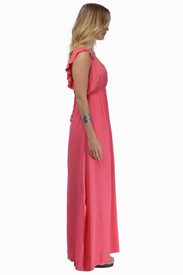Hearts Aflutter Maxi Dress