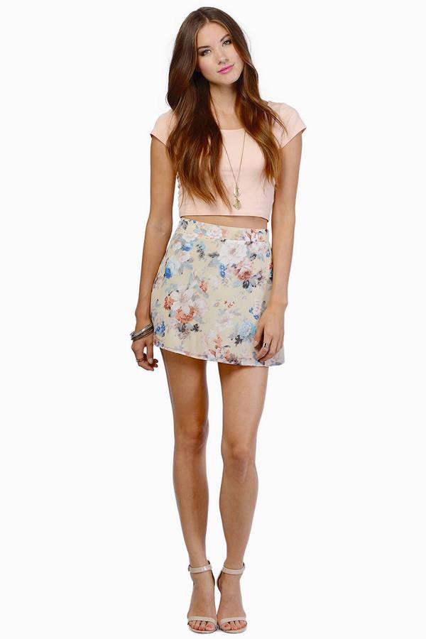 Natasha Floral Skirt