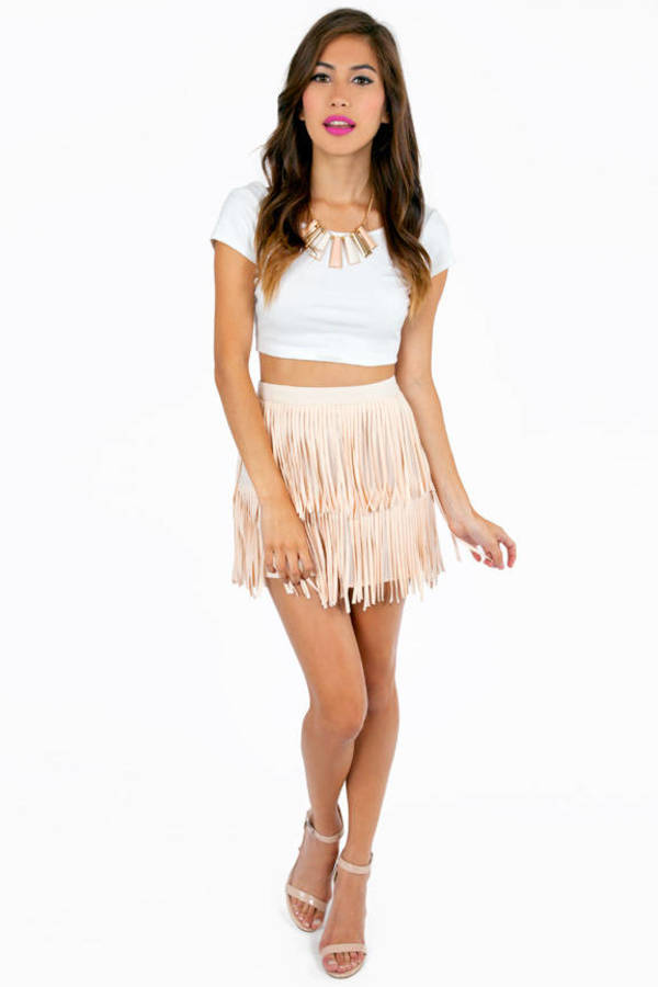 My Best Fringe Skirt