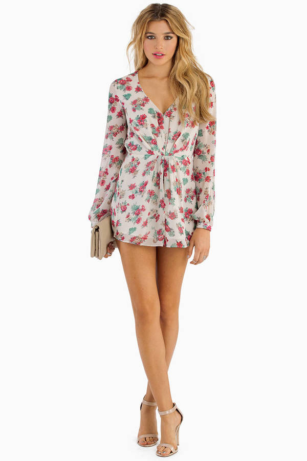 Searching For Flowers Romper