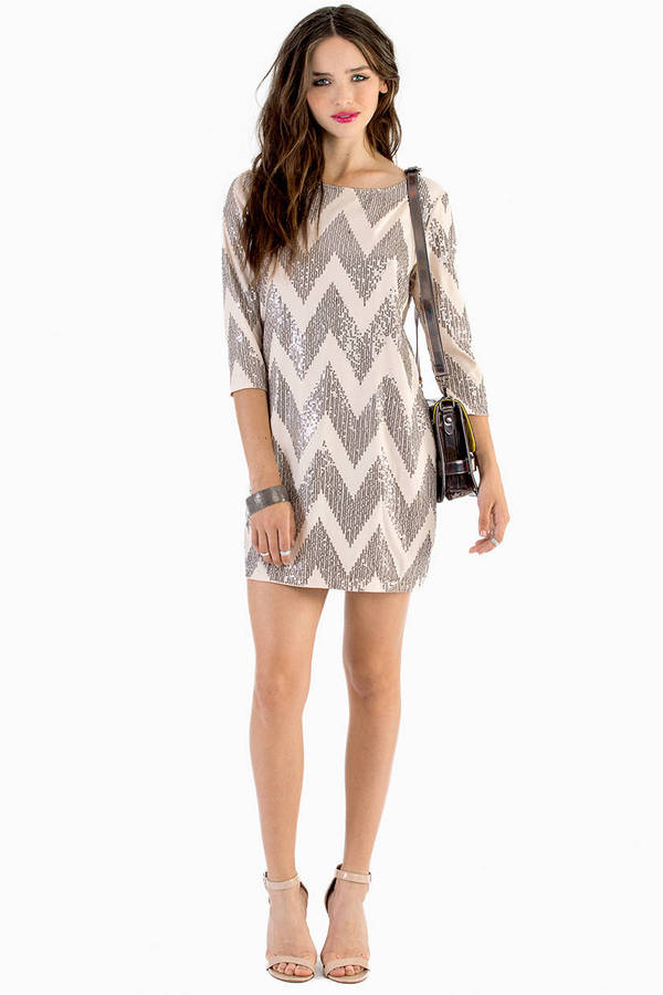 Sparkle in Time Shift Dress