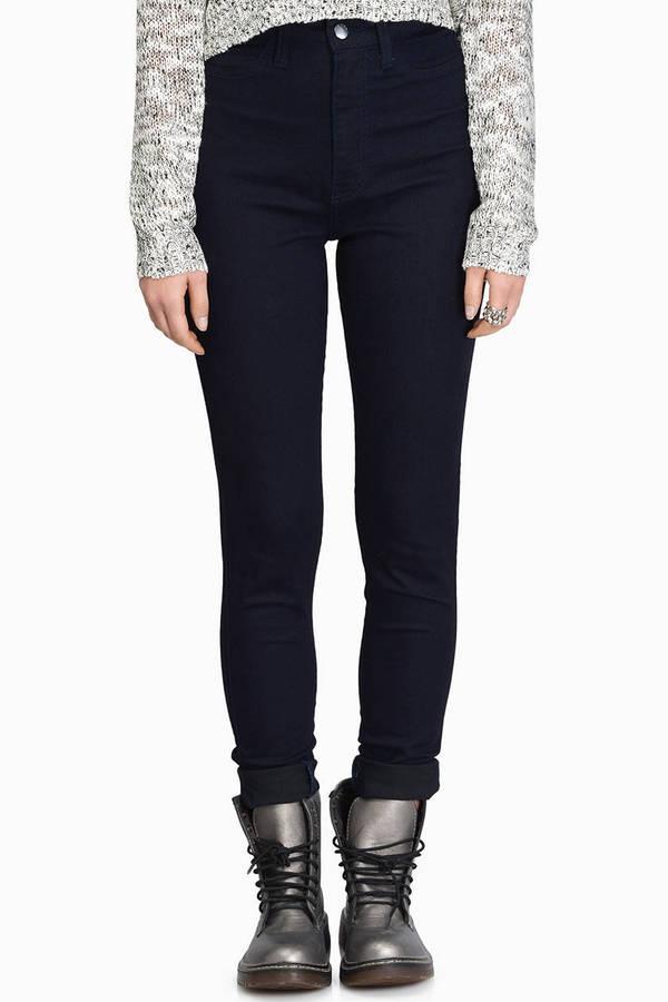 Kay High Waisted Skinny Jeans