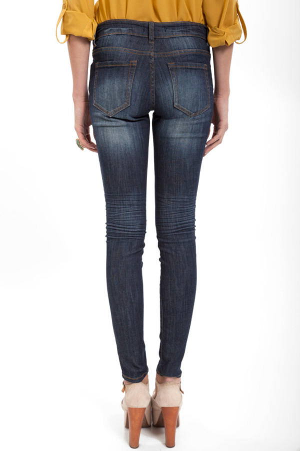 Midnight Rising Skinny Jeans