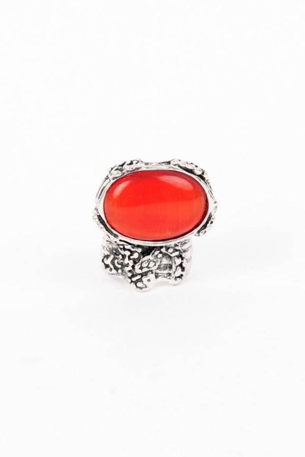 Ana Accessories Stone Cold Silver Ring