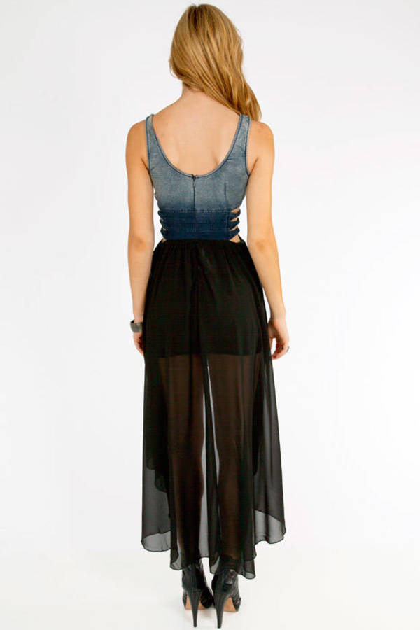 Billy Jeans Caged Dress