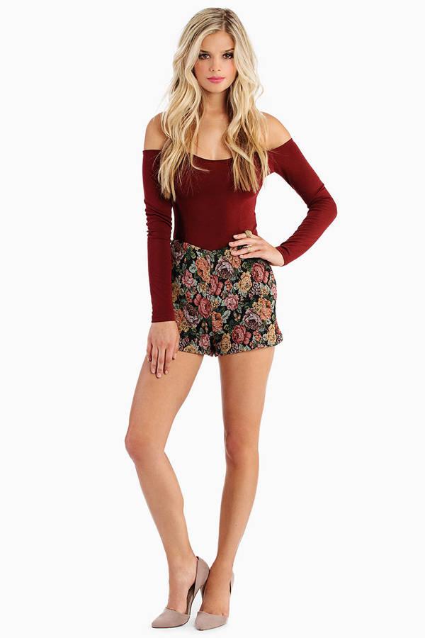 Soft Petal Shorts