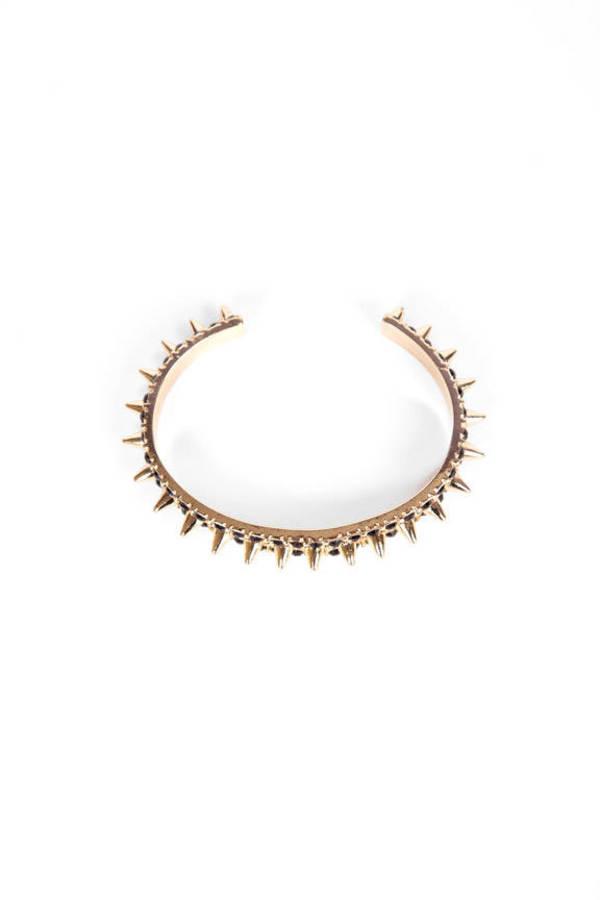 Spiked Shiner Bracelet