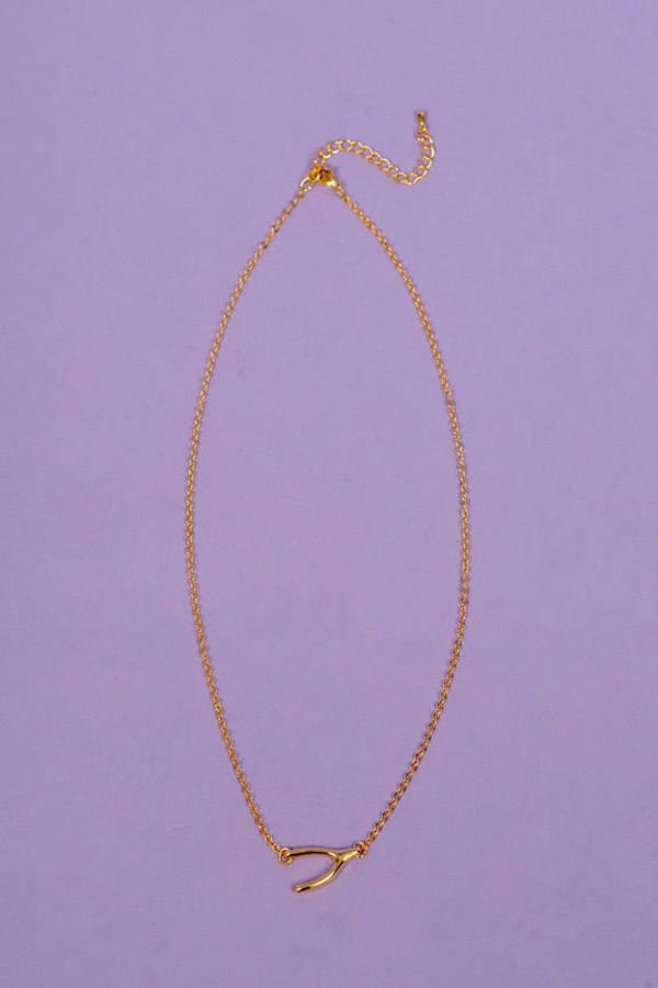 Break a Wish Necklace