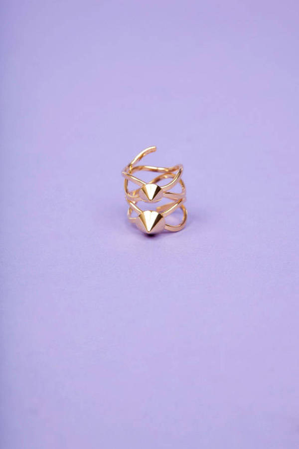 Double Stud Ring