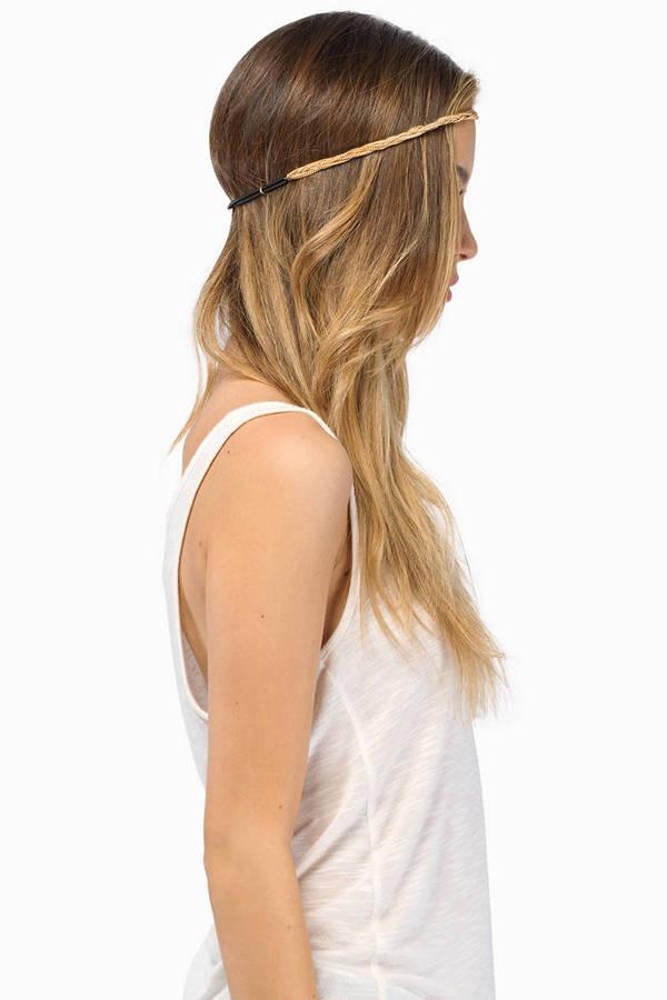 Gold Rush Headband
