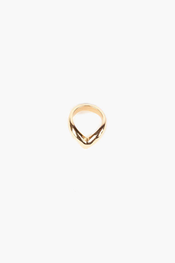 In V-Tro Mid Knuckle Ring